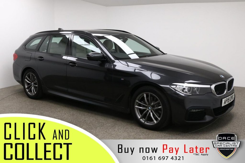 USED 2019 19 BMW 5 SERIES 2.0 520D XDRIVE M SPORT TOURING 5d AUTO 188 BHP