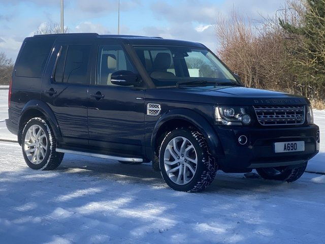USED 2015 65 LAND ROVER DISCOVERY 3.0 SDV6 HSE 5d 255 BHP 4 WHEEL DRIVE AUTO 8 Speed 7 Seat Pan Roof
