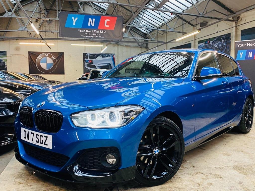 USED 2017 17 BMW 1 SERIES 1.5 116d M Sport Sports Hatch Auto (s/s) 5dr PERFORMANCE KIT - STUNNER!