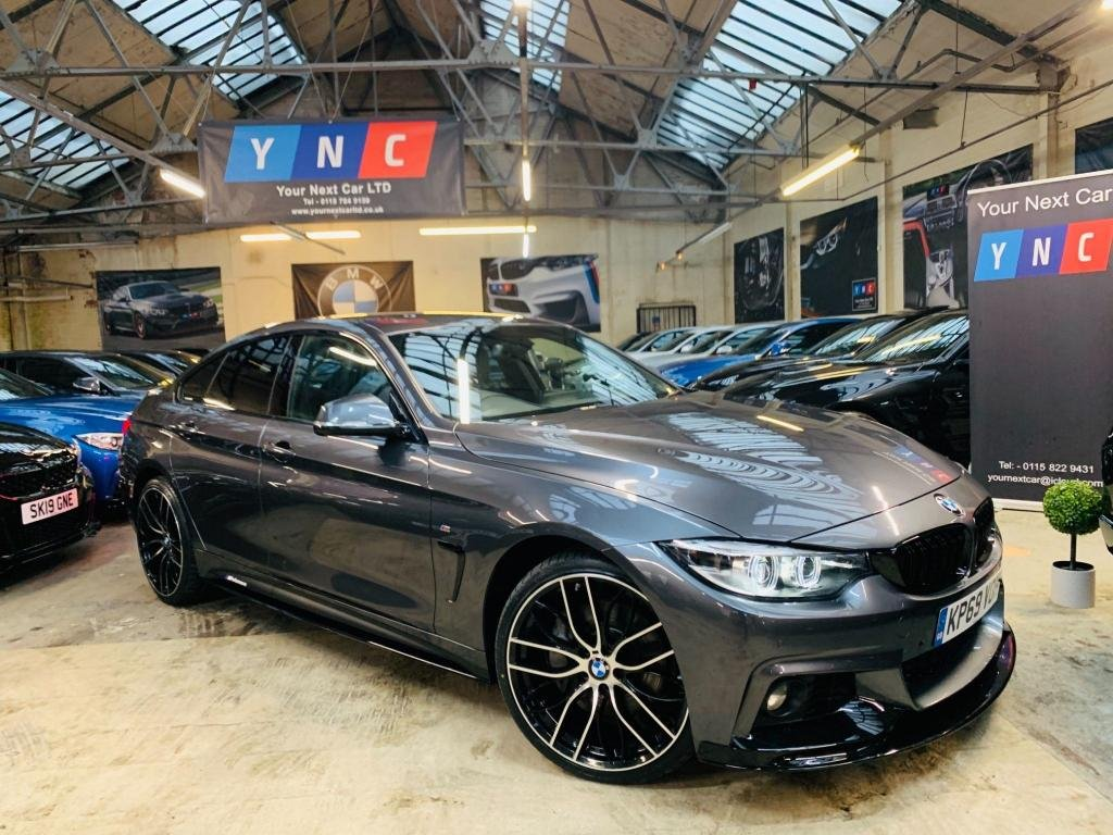 USED 2019 69 BMW 4 SERIES 3.0 435d M Sport Gran Coupe Auto xDrive (s/s) 5dr PERFORMANCE KIT 20S BMW WRNTY!