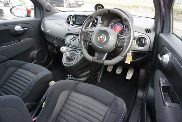 USED 2016 66 ABARTH 500 1.4 595 COMPETIZIONE 3d 178 BHP GREAT EXAMPLE, LOW MILES