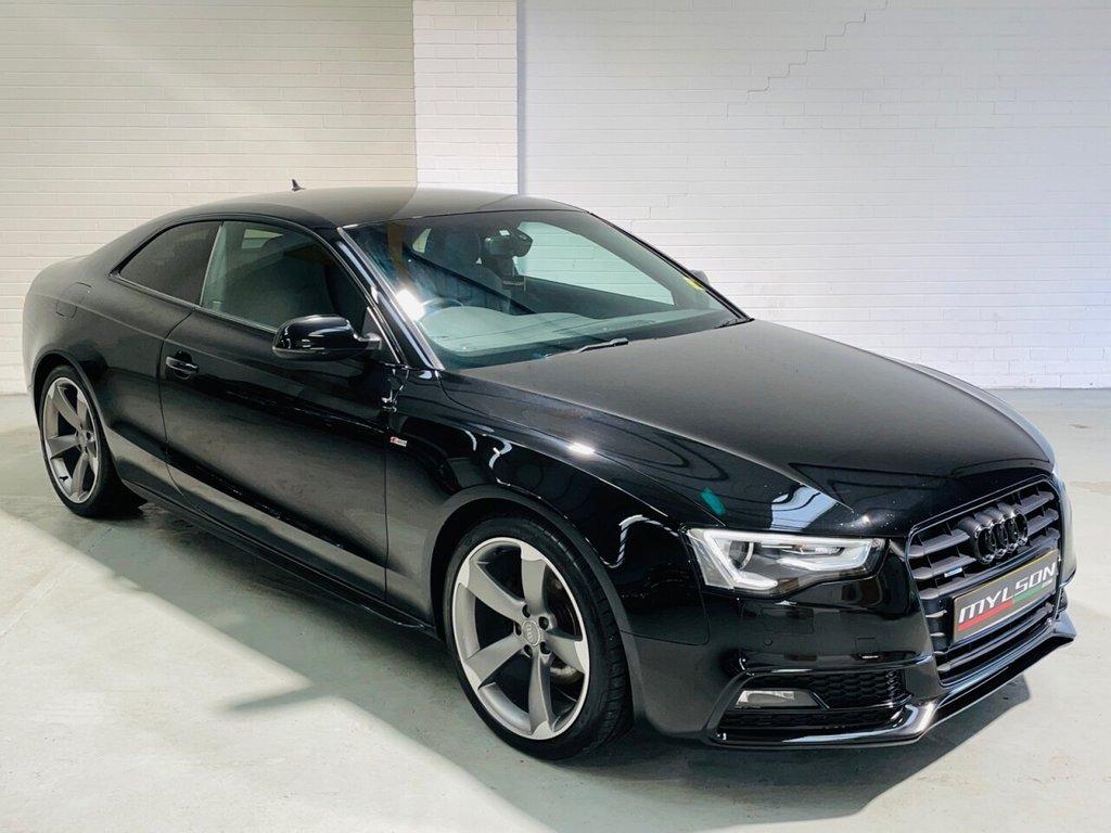 USED 2014 64 AUDI A5 2.0 TDI QUATTRO BLACK EDITION 2d 175 BHP Black Edition Quattro Spec, Tech Pack, Heated Seats, Audi Service History
