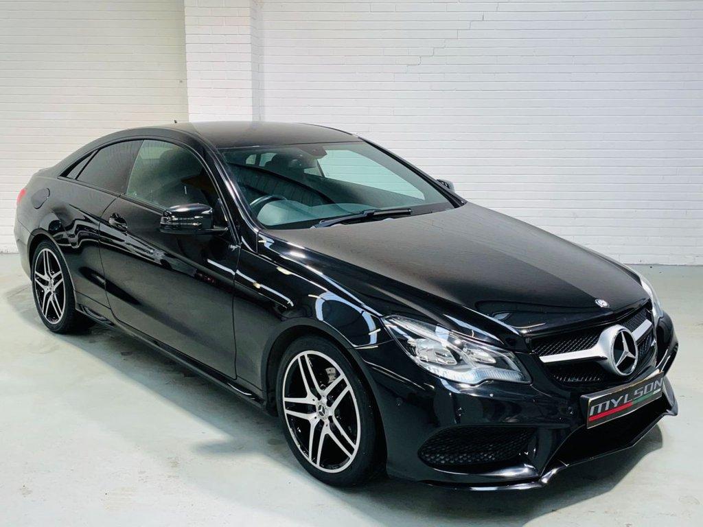 USED 2013 63 MERCEDES-BENZ E-CLASS 2.1 E250 CDI AMG SPORT 2d 204 BHP Triple Black, De-Chrome, Privacy Glass, Diamond Cut Wheels