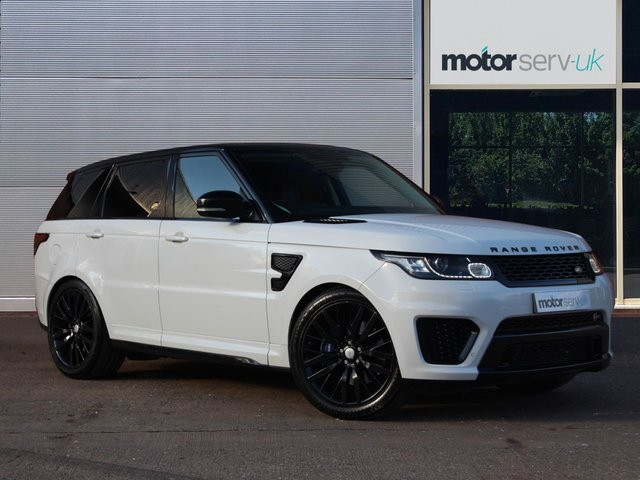 USED 2015 15 LAND ROVER RANGE ROVER SPORT 5.0 SVR 5d 550 BHP