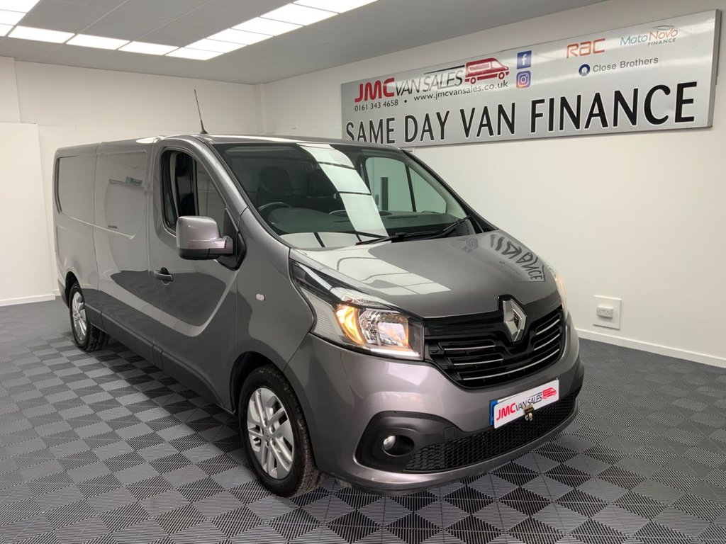 USED 2016 66 RENAULT TRAFIC 1.6 LL29 SPORT NAV ENERGY DCI 125 BHP CHOICE IN STOCK LWB  L2H1 AWAITING PREP