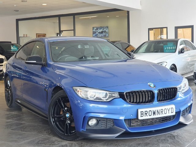 USED 2015 15 BMW 4 SERIES GRAN COUPE 2.0 420D M SPORT GRAN COUPE 4d 188 BHP BM PERFORMANCE STYLING+6.9%APR