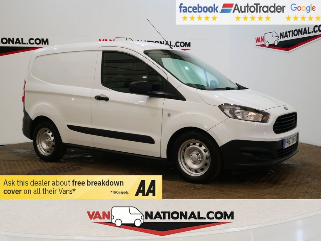 USED 2018 67 FORD TRANSIT COURIER 1.5 TDCI 75 BHP *SAT NAV*AIR CON*EURO 6* * ONE OWNER * EURO 6 * NAV * A/C * ZERO DEPOSIT FINANCE AVAILABLE *
