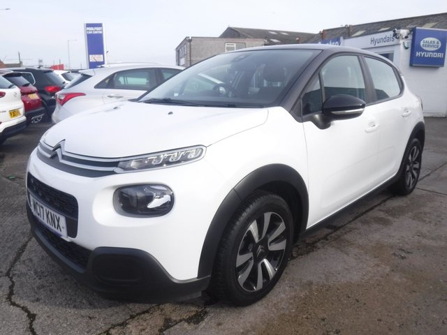 USED 2017 17 CITROEN C3 1.2 PURETECH FEEL 5d 81 BHP *1OWNER FROM NEW*APPLY CAR PLAY*BLUETOOTH*SERVICE HISTORY*AUX SOCKET*USB SOCKET*