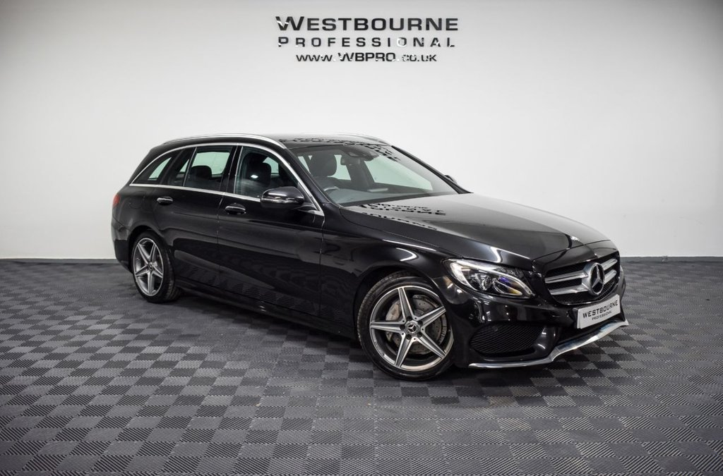 USED 2017 R MERCEDES-BENZ C-CLASS 2.1 C 220 D AMG LINE PREMIUM 5d 170 BHP Click&Collect / Home Delivery