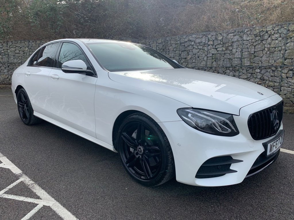 USED 2017 67 MERCEDES-BENZ E-CLASS 2.0 E 220 D AMG LINE 4d 192 BHP Free Next Day Nationwide Delivery