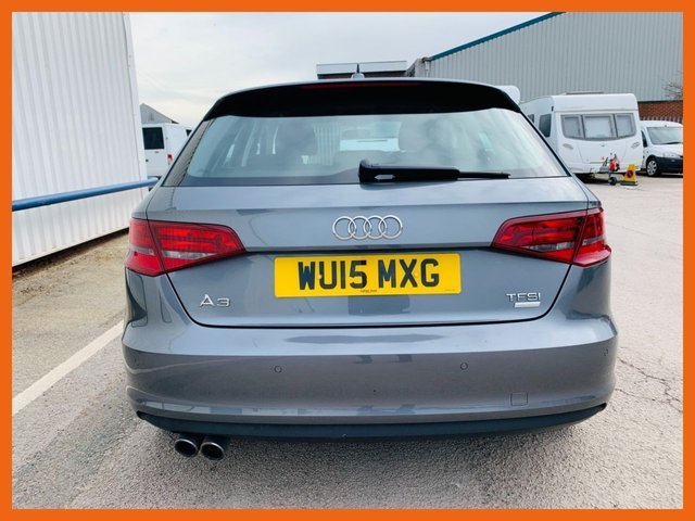 USED 2015 15 AUDI A3 1.4 TFSI SPORT 5d 148 BHP SATELLITE NAVIGATION - 12 MONTH MOT - ONLY 1 PREVIOUS OWNER - ONLY £20 RAOAD TAX