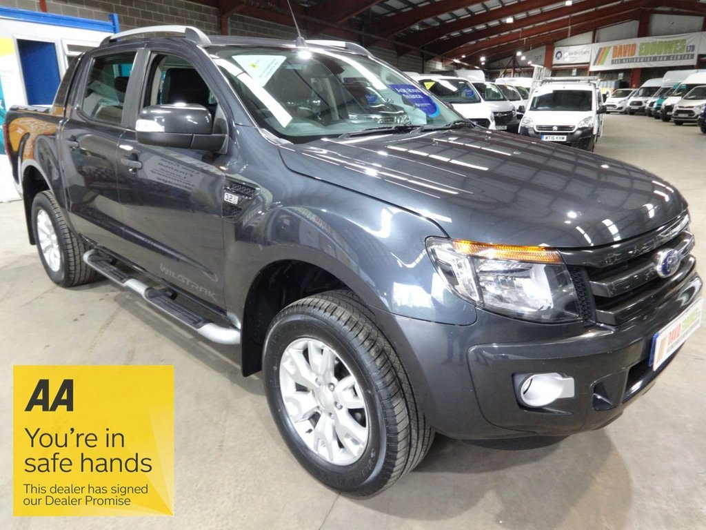 USED 2015 65 FORD RANGER 3.2 WILDTRAK 4X4 DCB TDCI 4d 197 BHP DOUBLE CAB PICK UP - AA DEALER PROMISE - TRADING STANDARDS APPROVED -