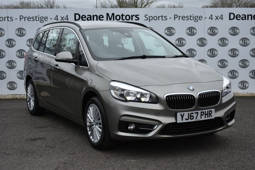 USED 2018 67 BMW 2 SERIES 2.0 218D LUXURY GRAN TOURER 5d 148 BHP 7 SEATER