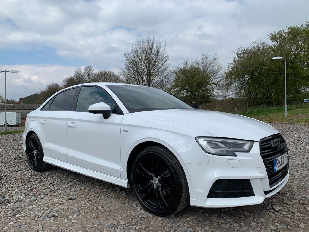 USED 2017 67 AUDI A3 1.6 TDI S LINE 4d 114 BHP Free Next  Day Nationwide  Delivery