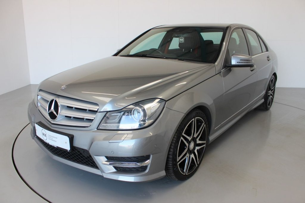 USED 2013 63 MERCEDES-BENZ C-CLASS 2.1 C250 CDI BLUEEFFICIENCY AMG SPORT PLUS 4d-2 FORMER KEEPERS-HALF LEATHER-PARKING SENSORS-CLIMATE CONTROL-BLUETOOTH-CRUISE CONTROL