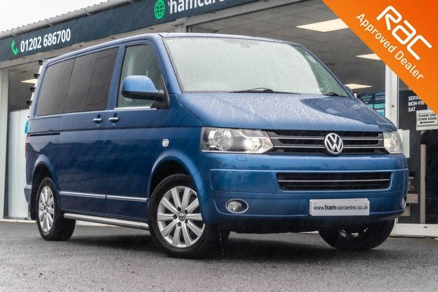 2012 12 VOLKSWAGEN CARAVELLE 2.0 EXECUTIVE TDI 5d 177 BHP AUTOMATIC  DVD 7 SEATS