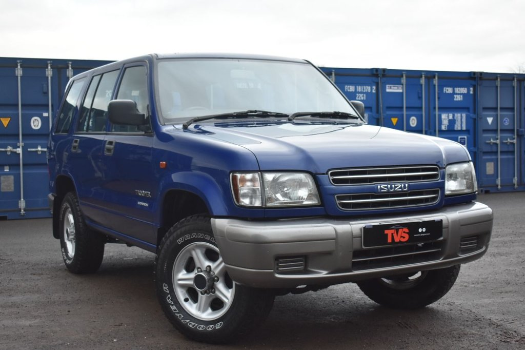 USED 2001 Y ISUZU TROOPER 3.0 LWB TURBO 5d 113 BHP