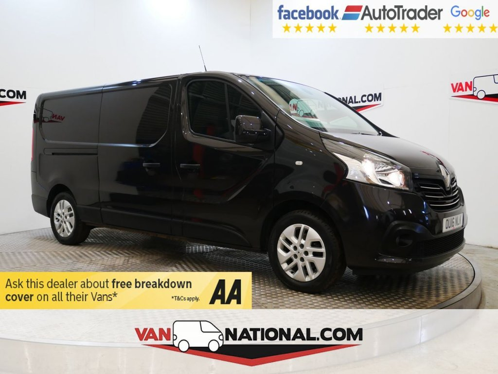 USED 2016 16 RENAULT TRAFIC 1.6 LL29 SPORT NAV ENERGY DCI 140 BHP L2 * ONE OWNER * LWB * NAV * AIR CON * ZERO DEPOSIT FINANCE AVAILABLE *
