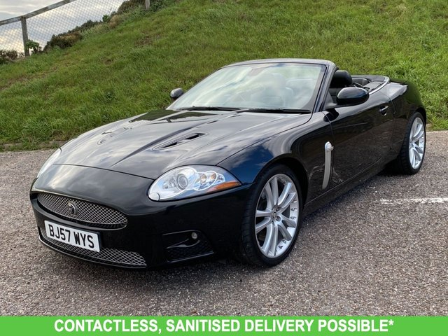 USED 2007 57 JAGUAR XK 4.2 XKR 2d 416 BHP TWO OWNERS, LOW MILEAGE FINANCE ME TODAY-UK DELIVERY POSSIBLE