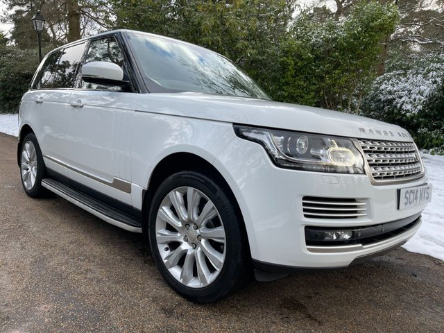 USED 2014 14 LAND ROVER RANGE ROVER 3.0 TDV6 AUTOBIOGRAPHY 5d 258 BHP