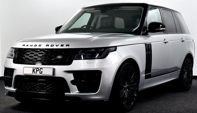 USED 2018 68 LAND ROVER RANGE ROVER 3.0 SD V6 Vogue Auto 4WD (s/s) 5dr Full SVO Body Kit, Pan Roof +
