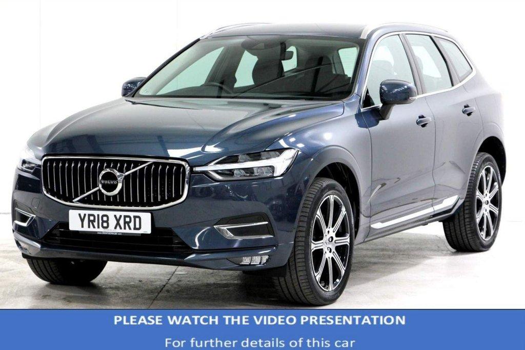USED 2018 18 VOLVO XC60 2.0 D4 Inscription Pro Auto AWD (s/s) 5dr VAT Q*INTELLISAFE*MASSAGE*20'