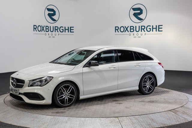 USED 2017 67 MERCEDES-BENZ CLA 2.1 CLA 200 D AMG LINE 5d 134 BHP