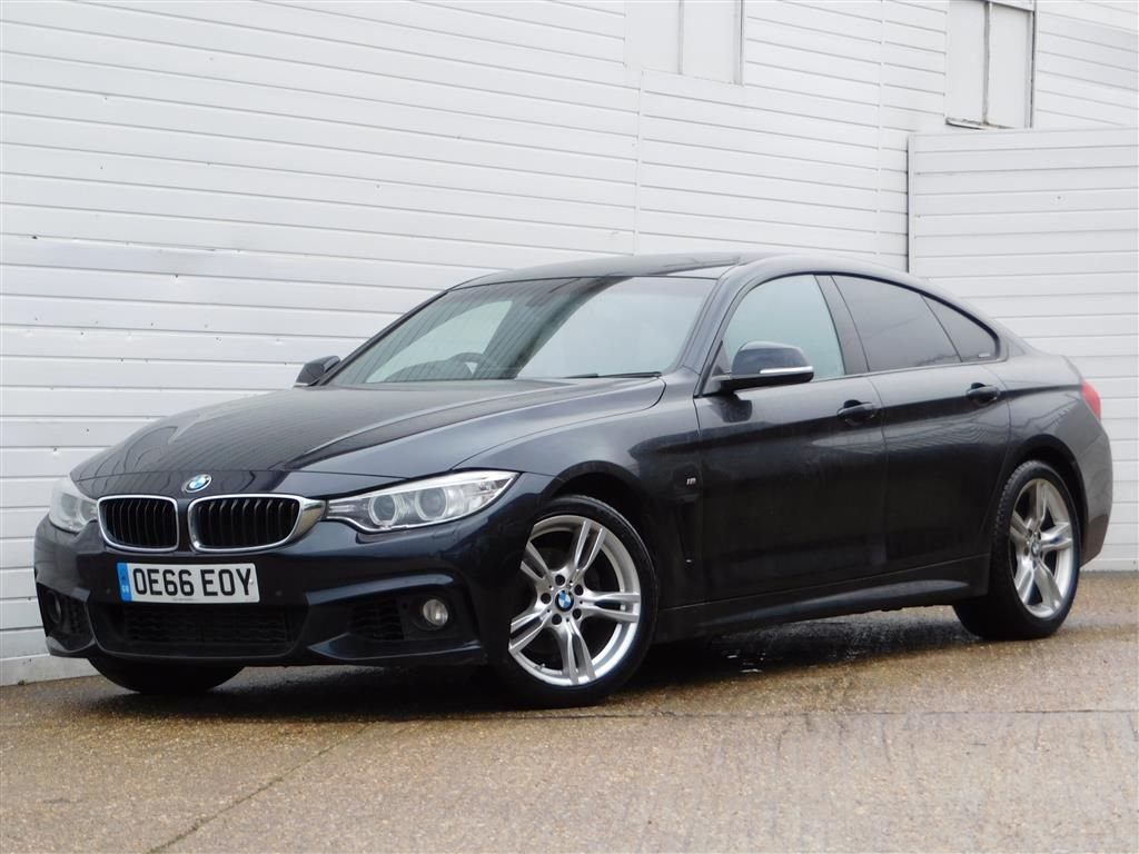 USED 2016 66 BMW 4 SERIES 2.0 420D M SPORT GRAN COUPE 4d 188 BHP Buy Online Moneyback Guarantee