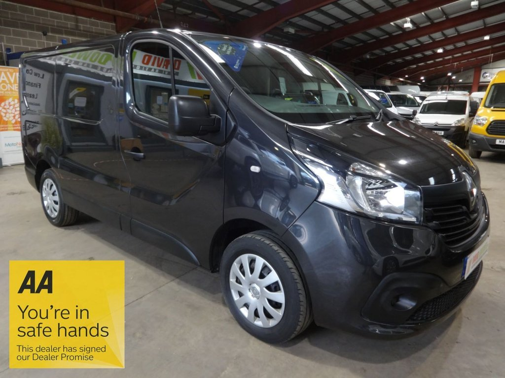 USED 2016 66 RENAULT TRAFIC 1.6 SL27 BUSINESS PLUS DCI 120 BHP L1 SWB VAN - AA DEALER PROMISE - TRADING STANDARDS APPROVED -