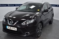 "USED 2016 16 NISSAN QASHQAI 1.6 DCI TEKNA 5d 130 BHP (PAN ROOF -19"" ALLOYS - LEATHER)"