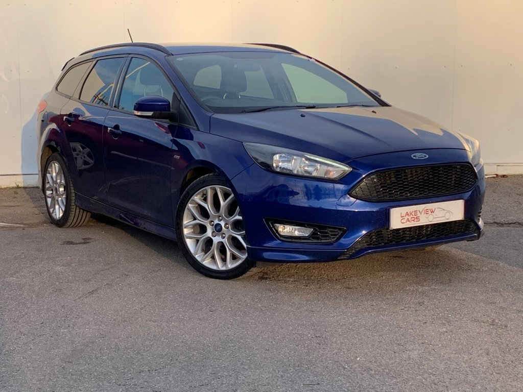 USED 2017 17 FORD FOCUS 1.5  TDCI 120 ST-Line 5 door
