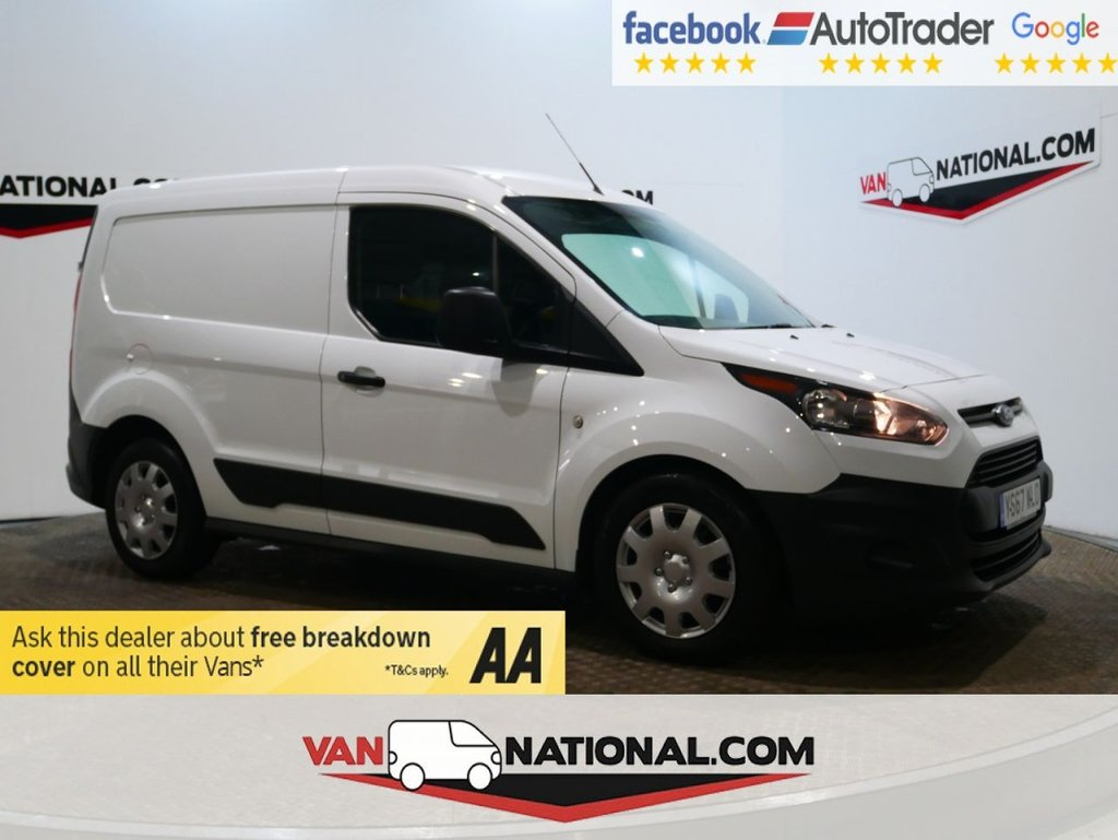 USED 2018 67 FORD TRANSIT CONNECT 1.5 200 P/V 100 BHP *AIR CON*EURO 6* * EURO 6 * AIR CON * BLUETOOTH * ZERO DEPOSIT FINANCE AVAILABLE *