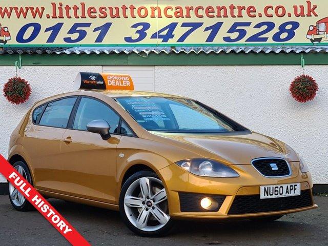 USED 2010 60 SEAT LEON 2.0 FR CR TDI 5d 168 BHP