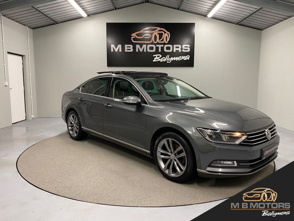 USED 2017 VOLKSWAGEN PASSAT GT 2.0TDI BLUEMOTION TECHNOLOGY 4d 148 BHP