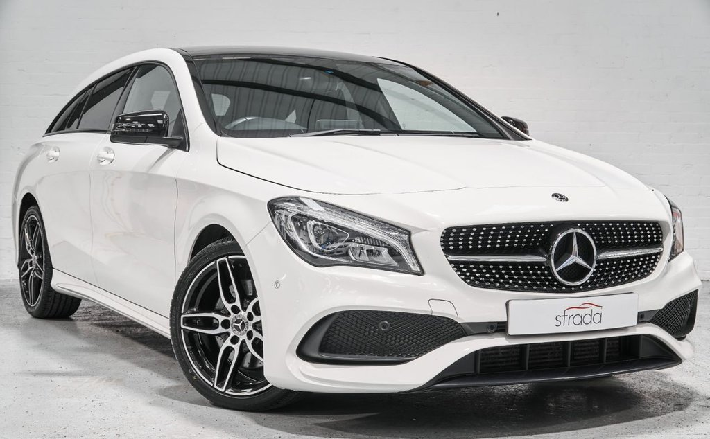 USED 2017 17 MERCEDES-BENZ CLA 2.1 CLA 220 D AMG LINE 5d 174 BHP