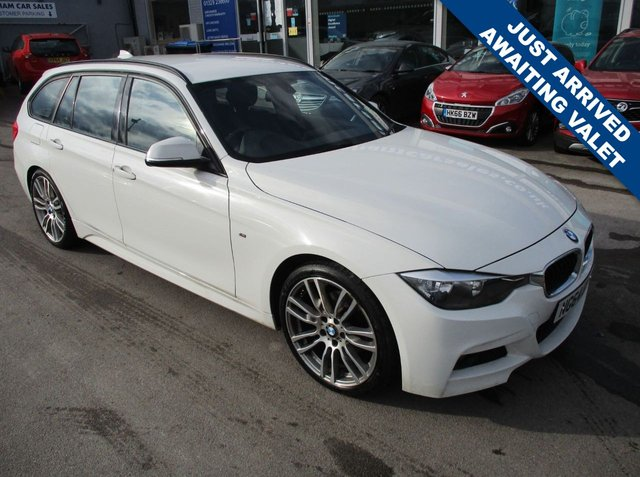 USED 2015 64 BMW 3 SERIES 2.0 320D M SPORT TOURING 5d 181 BHP