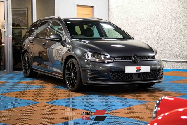 USED 2016 16 VOLKSWAGEN GOLF 2.0 GTD TDI DSG 5d 182 BHP Two Owners | Three Service Stamps