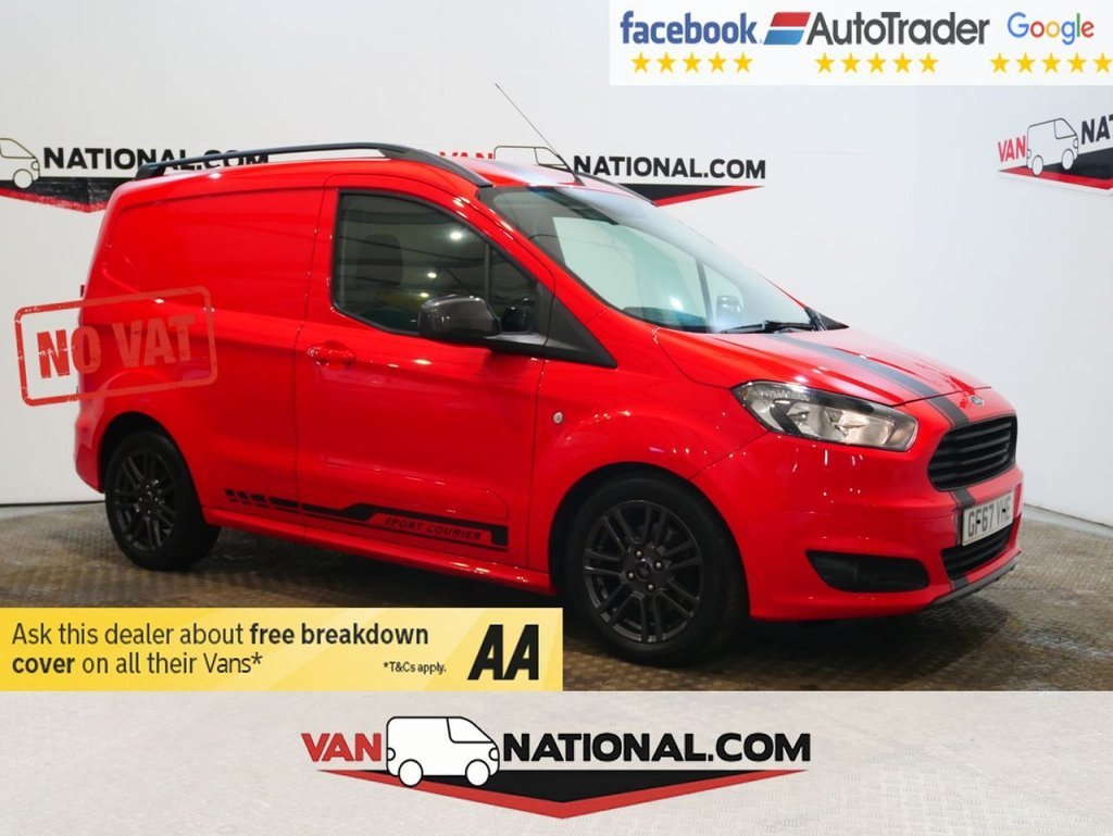 USED 2017 67 FORD TRANSIT COURIER 1.5 SPORT TDCI 95 BHP ** NO VAT*NO VAT*NO VAT** * NO VAT * EURO 6 * ALLOYS * NAV * ZERO DEPOSIT FINANCE AVAILABLE *