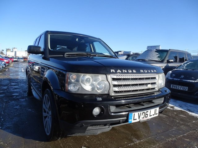 USED 2006 06 LAND ROVER RANGE ROVER SPORT 2.7 TDV6 SPORT HSE 5d 188 BHP GREAT SPEC