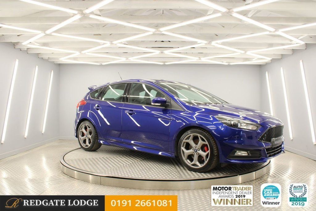 USED 2016 16 FORD FOCUS 2.0 ST-3 TDCI 5d 183 BHP 1 OWNER, SAT/NAV, HEATED LEATHER, DAB, BLUETOOTH, CRUISE CONTROL, FAB MPG.....