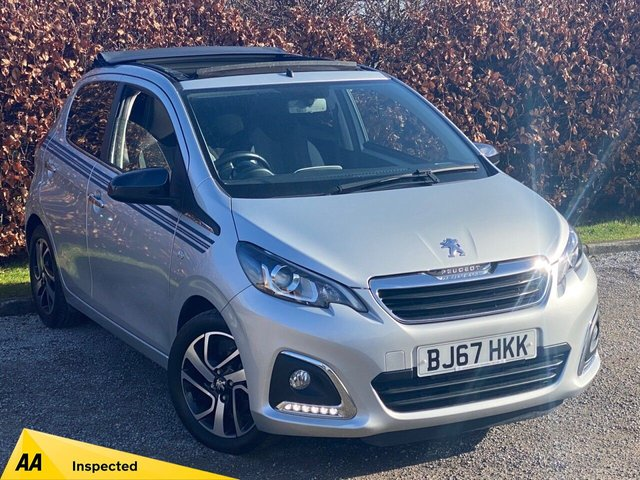 USED 2017 67 PEUGEOT 108 1.2 PURETECH COLLECTION TOP 5d 82 BHP * 1 OWNER FROM NEW * 128 POINT AA INSPECTED * LOW MILEAGE CAR *