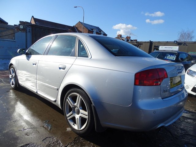 USED 2006 06 AUDI A4 2.0 S LINE 4d 129 BHP AUTOMATIC 1 OWNER