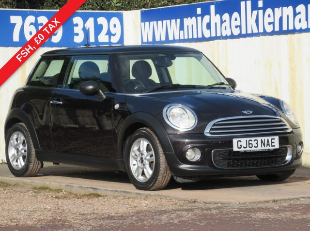 USED 2013 63 MINI HATCH ONE 1.6 ONE D 3d 90 BHP IMMACULATE