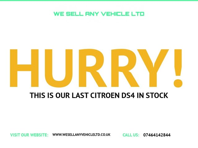 USED 2012 61 CITROEN DS4 2.0 HDI DSPORT 5d 161 BHP
