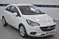 USED 2017 17 VAUXHALL CORSA 1.4 ENERGY AC ECOFLEX 3d 90 BHP (£30 TAX - PARKING SENSORS)