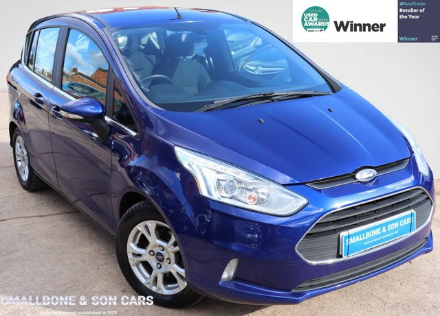 USED 2015 65 FORD B-MAX 1.5 ZETEC TDCI 5d 74 BHP * BUY ONLINE * FREE NATIONWIDE DELIVERY *