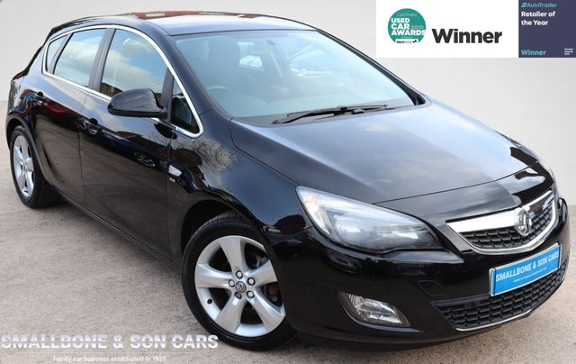 USED 2011 60 VAUXHALL ASTRA 1.6 SRI 5d 113 BHP * BUY ONLINE * FREE NATIONWIDE DELIVERY *