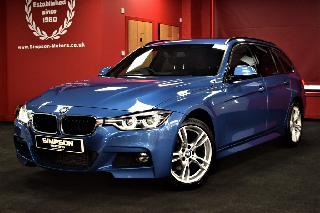 USED 2018 18 BMW 3 SERIES 2.0 320D XDRIVE M SPORT TOURING 5d 188 BHP