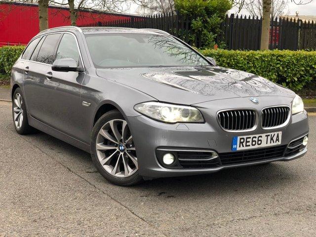 2016 66 BMW 5 SERIES 2.0 520D LUXURY TOURING 5d 188 BHP