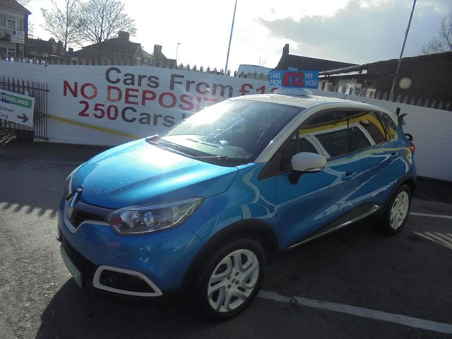 USED 2014 14 RENAULT CAPTUR 1.5 DYNAMIQUE S MEDIANAV DCI 5d 90 BHP **CLICK AND COLLECT ON YOUR NEXT CAR**